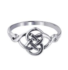 Amazon.com: Sterling Silver Polished Finish 10 x 20mm Celtic Rounded Knot Design 2mm Wide Band Ring Size 5, 6, 7, 8, 9, 10: Jewelry