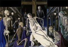 Ecce Homo- Paul Delvaux - 1949  180x260 cm, Colección Vanthournout