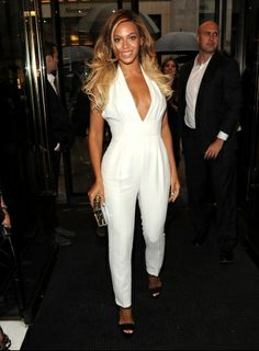 Beyoncé in Gucci at the one-year anniversary of Sound of Change Live. See more on Vogue.com.