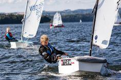 Andreas Møller Rehne sejlads optimist#egåsejlklubungdom