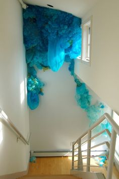 Lisa Kellner's Jellyfish Like Silk Installations | Beautiful/Decay Artist & Design