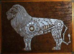 Steam powered Lion