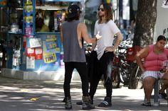 30 Seconds To Mars.-  Jared and Shannon.- #MARSinRio #RockInRio13 11-09-2013