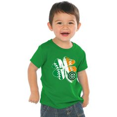 Chicago Cubs Toddler St. Patrick's Day T-Shirt by Soft as a Grape - MLB.com Shop