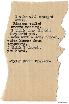 Typewriter Series #866byTyler Knott Gregson *Pre-Order my book, Chasers of the Light, and donate $2 to @TWLOHA and get a free book plate signed by me :) Click the link in my bio, or go here: tylerknott.com/chasers*