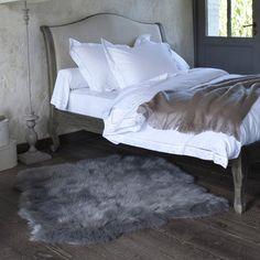 Livio Mock Sheepskin Rug, 110 x 130cm La Redoute Interieurs   La Redoute Mobile