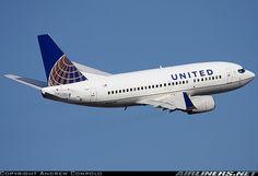 United (Continental) B737-500  IAH-MCI