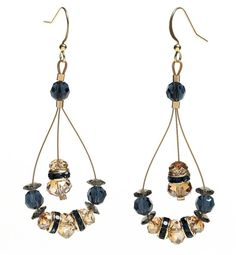 Andalucían appeal earrings - free Bead & Button pattern