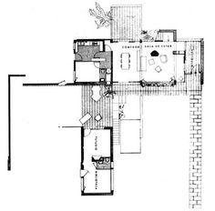 Casa AGUSTÍ (Josep Maria Sostres. Sitges, 1955).