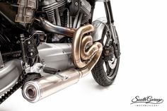 "Racing Cafè: Harley XR 1200 ""Knuckle"" by South Garage Motorcycles"