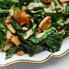 Flip the script on a winter vegetable that's usually stewed: Collards are great when briefly sautéed.