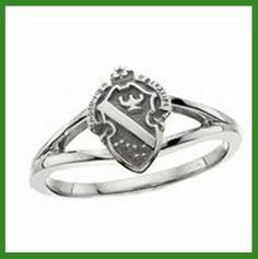 Alpha Phi Loyalty Crest Ring
