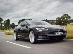 """Nicht nur die Beschleunigung des Tesla Model S P90D ist """"reiner Wahnsinn""""."""