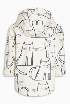 Buy Ecru Cat Print Jacket (3mths-6yrs) from the Next UK online shop