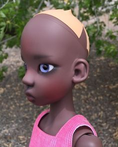 Darkest Tan Miki by Kaye Wiggs MSD Resin BJD Doll | eBay