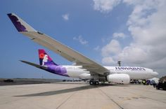 Our friends at Hawaiian Airlines get their first Airbus A330. Cool!