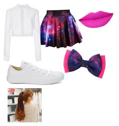 """""""Untitled #28"""" by pufferfishgal on Polyvore featuring Carolina Herrera, Converse and Pin Show"""