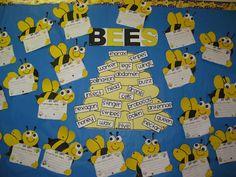 Bee happy wall
