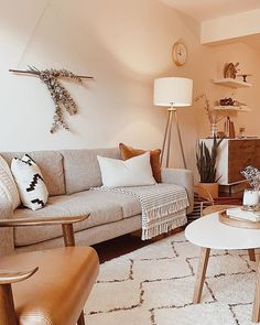 Boho Living Room, Home And Living, Living Room Decor, Pastel Living Room, Living Room Inspiration, Home Decor Inspiration, Pastel House, Interior Desing, House Rooms