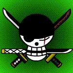 TS Zoro Jolly Roger Animated by Z-studios.deviantart.com on @deviantART