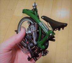 brompton folding bike model