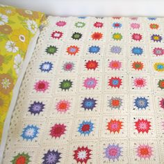 Yarning Made: Granny square blanket completed!