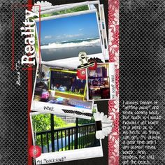 Papers from katie the scrapbook lady Flowers and template from anita stregiou Frames and gold clip from amy teets  fonts-joyful juliana, loo...