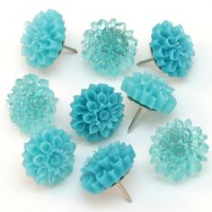 Flower Thumb Tacks