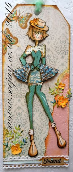 Paper ink and Glue: Dressing dolls again.