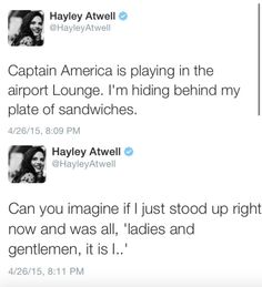 Hayley Atwell is amazing.