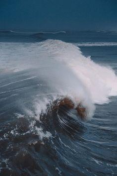 "red4shinigami: ""Waves at Juno Beach """