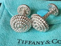 Tiffany & Co.  Solid Silver Rope Cuff by STUNNINGCOLLECTIBLES