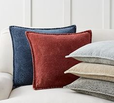 Chenille Jacquard Pillow Cover #potterybarn