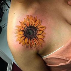 40 Newest Sunflower Tattoo Ideas For You - Tattoos Form Tattoo, Shape Tattoo, 1 Tattoo, Piercing Tattoo, Piercings, Tattoo Music, Tattoo Fonts, Tattoo Drawings, Boys With Tattoos