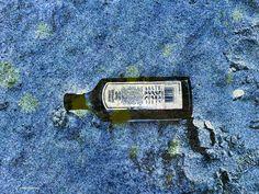 Smoke screen... #beach #art #bottle
