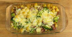 Broccoli ovenschotel met Mini-Krieltjes en salami zelf maken? Lees hier het heerlijke recept van CêlaVíta. Eet smakelijk! Broccoli Tofu, Broccoli Quiche, Baked Potato, Cauliflower, Vegetables, Healthy, Ethnic Recipes, Food, Cauliflowers