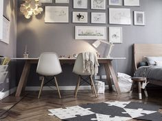 Schaut Euch Hier Nicht Unbedingt Die Möbel An, Sondern Die Wandfarbe   Ein  Zartes,
