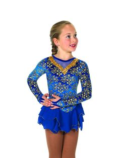 New Jerrys Competition Skating Dress 47 Grand Gala Made on Order #Jerrys