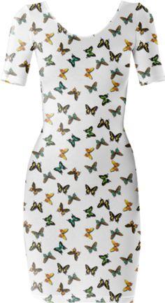 Kaleidoscope Sanctuary Short Sleeved Bodycon Dress - Available Here: http://printallover.me/products/0000000p-kaleidoscope-sanctuary-1