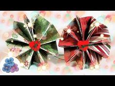 Adornos Navideños: Esferas de Papel - Manualidades de Navidad 2015 Pintura Facil - YouTube