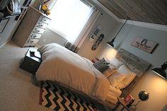 Skateboard boy bedroom, chambre de skate pour un ado garçon !