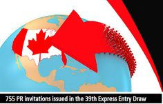 755 #PR Invitation Issued in the 39th #ExpressEntry Draw   https://www.morevisas.com/immigration-news-article/755-pr-invitation-issued-in-the-39th-express-entry-draw/4704/