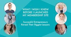Looking to grow a membership based business? These 6 successful business owners share their lessons learned. #membership #courses