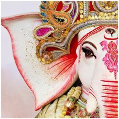 May Lord Ganesha give you a rainbow for every storm. A smile for every tear. A promise for every care. And an answer for every prayer.  ॐ  Om Gam Ganapataye Namaha  #JaiGanesha