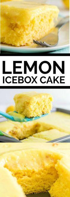 Lemon Icebox Cake #WalmartWOW #ad