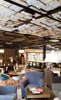Cafe foxford book ceiling bratislavA
