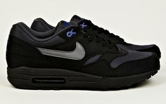 competitive price 7617d bfdb9 Nike Air Max 1 in Black and Grey  Sole Collector. Classic and easy to