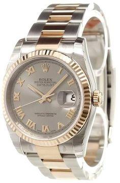 Rolex 'Datejust' analog watch