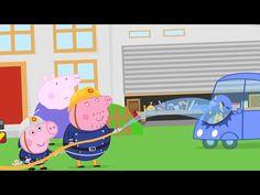 Peppa pig Finger Family song  fireman - YouTube