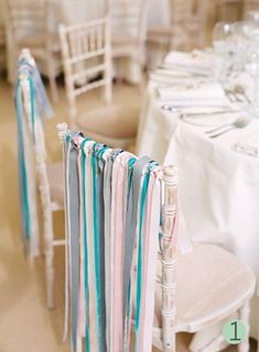 #ribbonchairs #sweethearttable